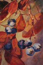Bradburn Autumn Berries watercolor
