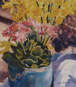 Bradburn Still Life Study I watercolor