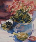 Bradburn Still Life Study II watercolor