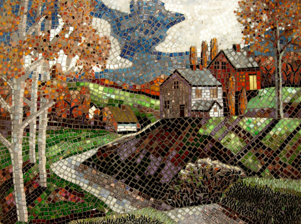 Technique: Mosaic Art: The Tile Creations of Carl and Sandra Bryant