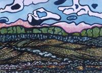 Gregor Roadside View No. 314 watercolor