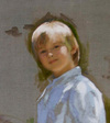 Garth Herrick oil portrait
