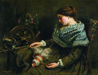 Courbet Sleeping Spinner