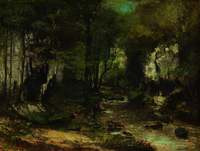 Courbet Stream of the Puits-Noirs, Valley of the Loue