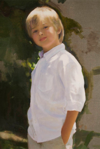Herrick oil portrait demo