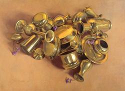 Monafo Brass Pile pastel