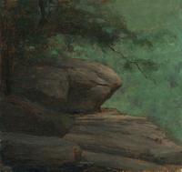 Schlaht Detail Study of a Rock
