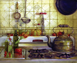Chabrian What's Cooking watercolor