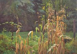 Garden's End acrylic