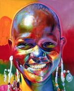 Bennett Mile Smile (Tanzania) acrylic