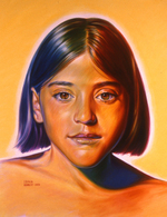 Bennett Portrait of a Young Girl acrylic