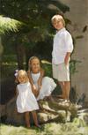 Garth Herrick oil portrait demo