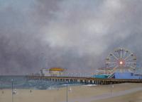 Kassel Santa Monica Pier, Dusk oil