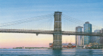 Brosen Brooklyn Bridge watercolor