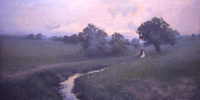 Sanders Landscape with Brook oil