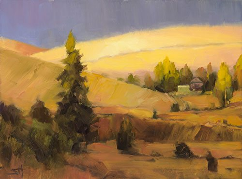 When things get tough and frustrating, I try to put my mind, and my attitude, in a beautiful, serene place. Homeland 2, from the Homeland series, by Steve Henderson.
