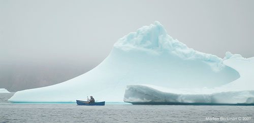 Cory Trepanier has been on three extensive excursions to paint the Canadian Arctic.