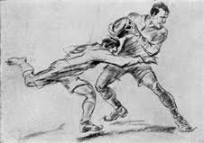 Jean Jacoby's Olympic winning drawing.