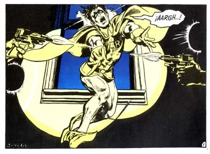 One of Neal Adams' depictions of Robin from the Batman comic book.