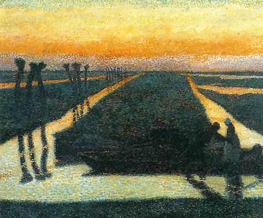Broek in Waterland by Jan Toorop, 1889.