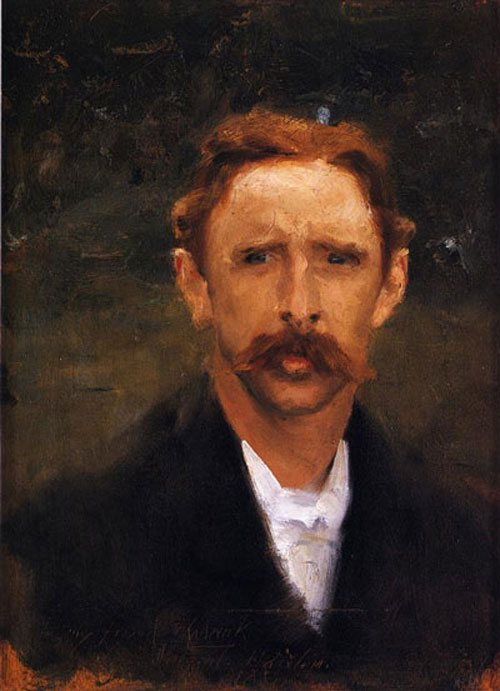 My Friend Chadwick by Sargent, 1880, oil on canvas.
