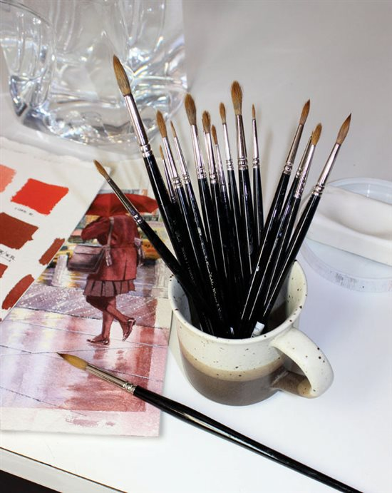 Throughout the United States, artists have begun to realize the scarcity of kolinsky fine art brushes.