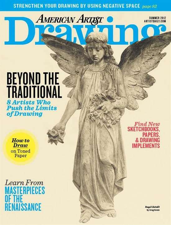 Summer 2012 Drawing magazine cover