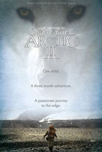 Trepanier created a film, Into the Arctic, documenting his extreme painting journey.