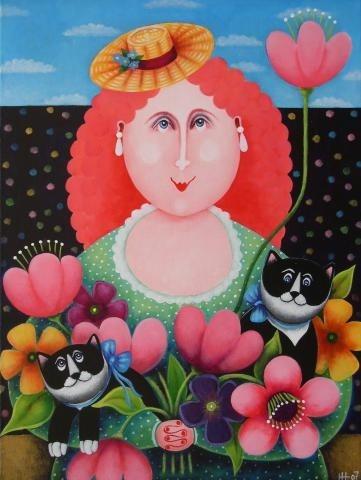 Bouquet by Hanne Hoejfeldt.