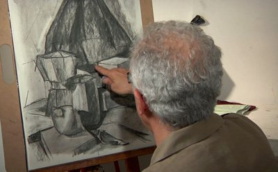 Click the picture above to view your free video lesson on charcoal drawing.