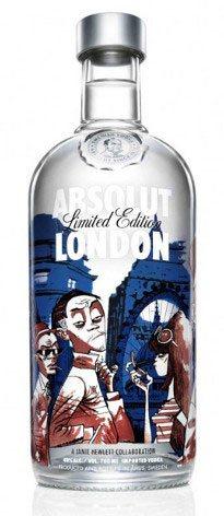 Absolut's illustrated bottle labels.
