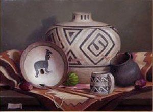 Turid Pedersen's still life paintings take you to a whole other world.