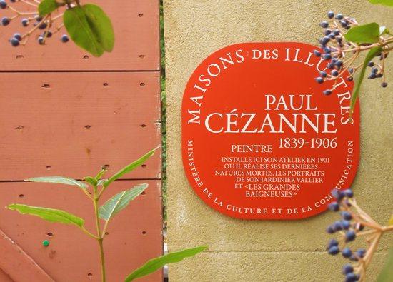 Cezanne plaque