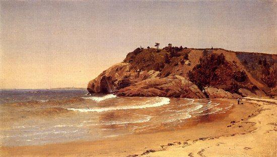Manchester Beach by Sanford Robinson Gifford, 1865.