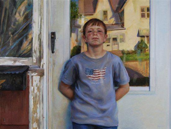 Anaheim Glow by James Gurney, 2006, oil painting.