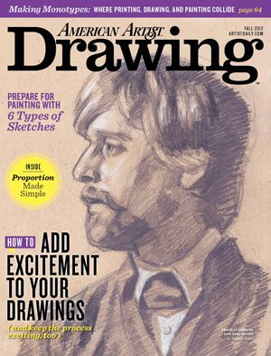 The cover of Drawing magazine, fall issue.