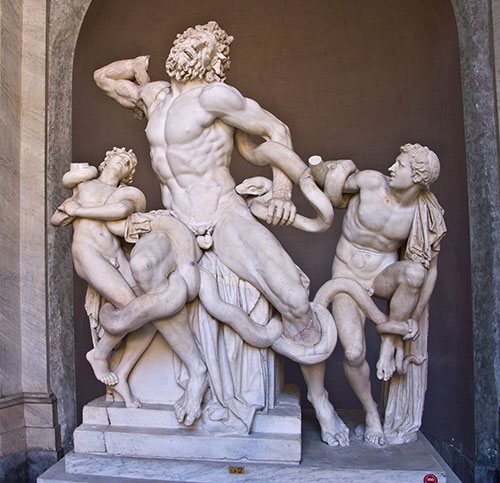The composition of the Laocoön was thought to be the height of disegno during the Renaissance. It is complexly arranged, full of emotional power, and sculpted with incredible skill.