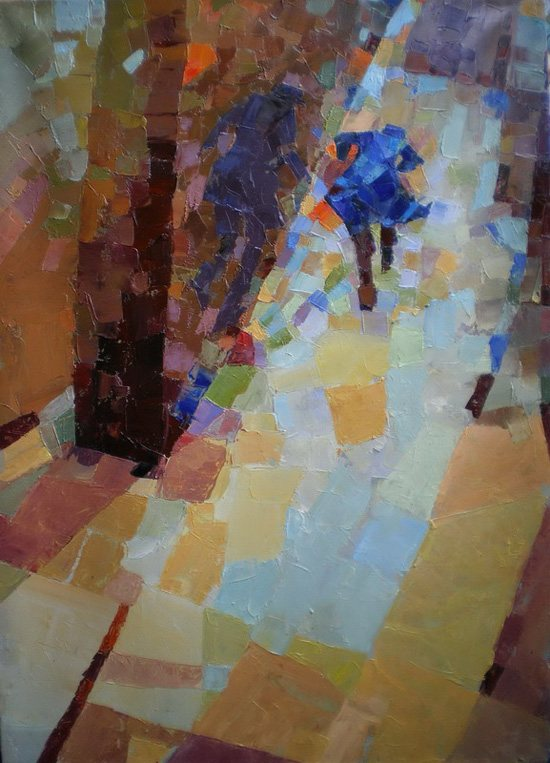 Away by Melinda Matyas, oil on canvas