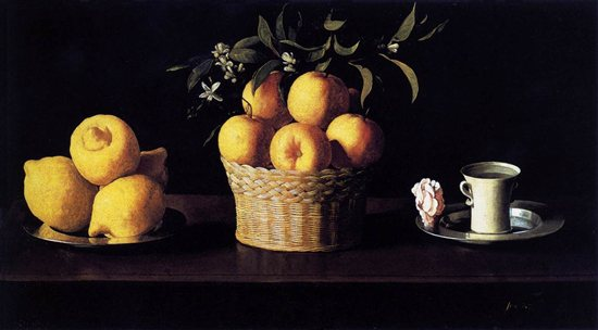 The Zurbaran still life painting that started it all for me!