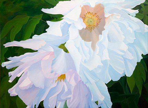 Flamenco by Ann Trusty, oil painting.