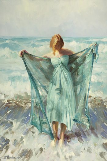 It's not easy drawing the human figure accurately, and if you've tried and you've tried and it's just not happening, it may be time to ask for help. Aphrodite by Steve Henderson.