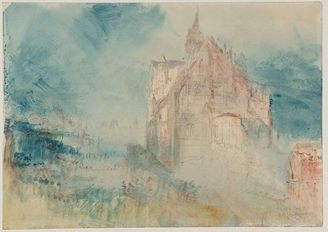 J.M.W. Turner's works are awe-inspiring because the artist started with movement and power, light and volume, before ever even settling on his subject.