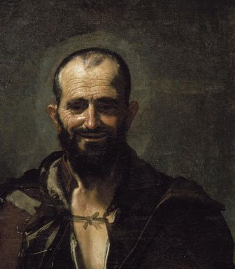 Archimedes (detail) by Jose de Ribera, 1630, oil painting.