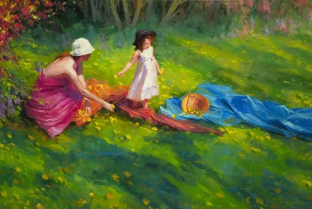 Friends and family are just terrific people, but they're not always the best resources when we want an honest, impartial opinion on our art. Dandelions by Steve Henderson.