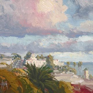 Clearing Skies by Ken Auster, oil painting.