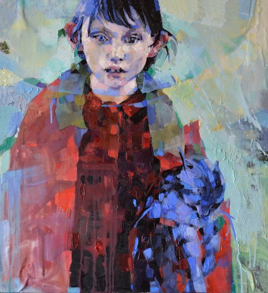 The Beginning of Memory by Melinda Matyas, oil on canvas