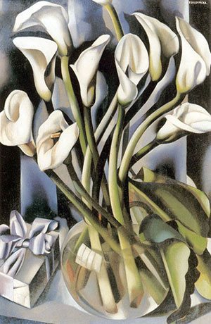 Arums II by Tamara de Lempicka, 1931
