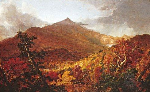 Plein Air Painting - Schroon Mountain, Adirondacks by Thomas Cole