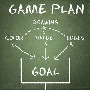 The game plan for portrait painters.