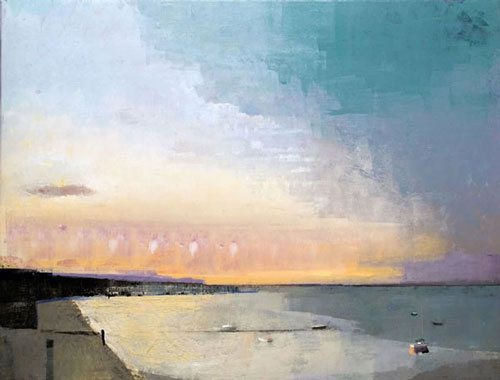 Light Early by John Evans, 38 x 50, oil on canvas.